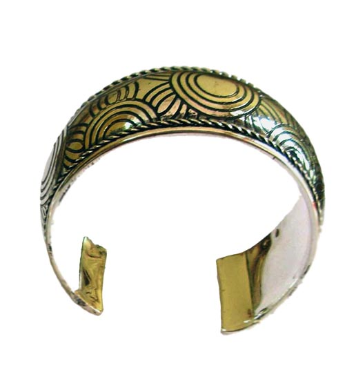 Bangle Adjustable Metal Al