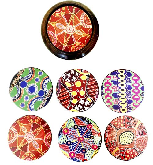 Coasters -Keringke Arts Hard Case