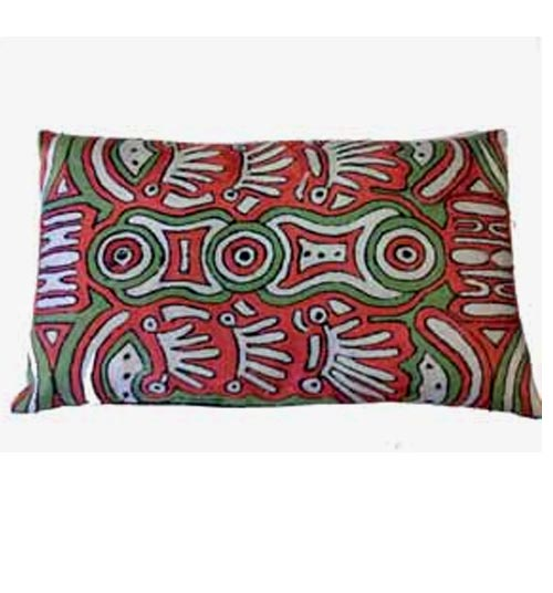 CUSHION COVER CHAINSTITCH 30CMX50CM BY ALICE NAPANANGKA GRANITES