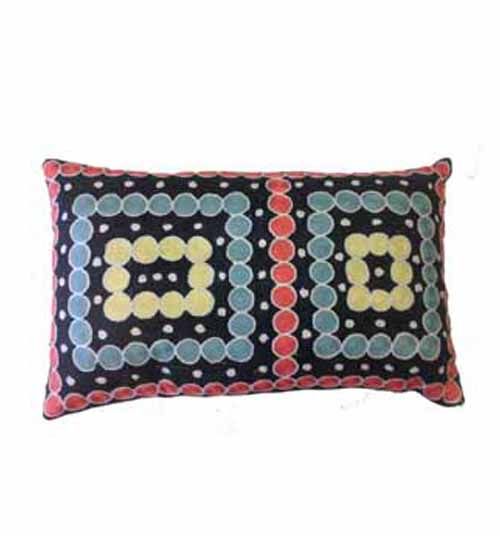 CUSHION COVER CHAINSTITCH 30CMX50CM BY NELLI NAGALA WAYNE