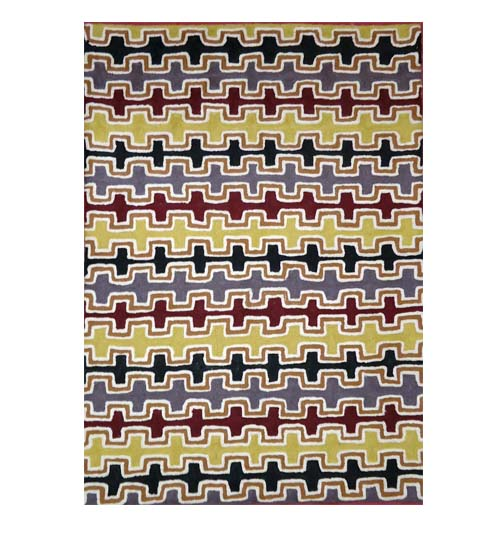 Chainstitch Rug 2.5x4 feet Byy Gloria Napangardi Gill