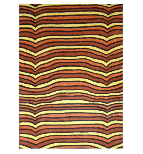 Chainstitch Rug 2x3 feet By Magda Nakamarra Curtis