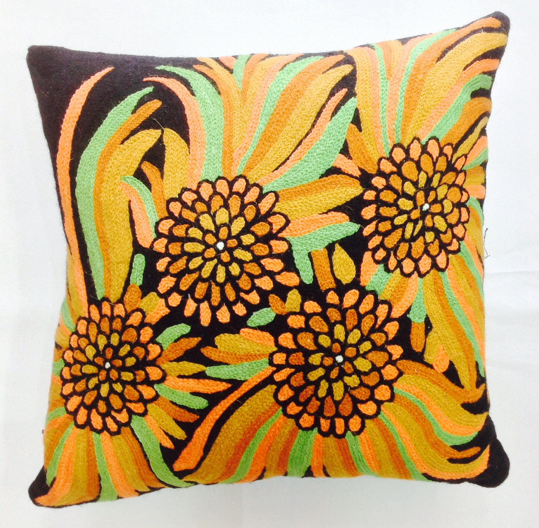Bush Fire Red Cushion