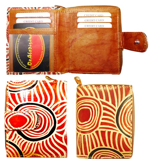 Wallet small Iwantja Brown