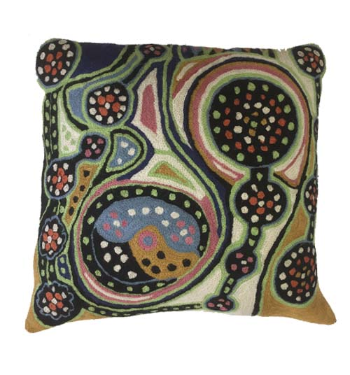 Cushion Cover Chainstitch- Marie Oliver