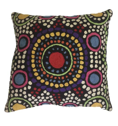 Cushion Cover Chainstitch- Jillary Lynch