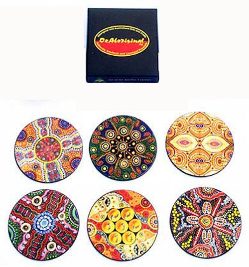 Coasters Cardboard Case by Keringke Arts - Click Image to Close