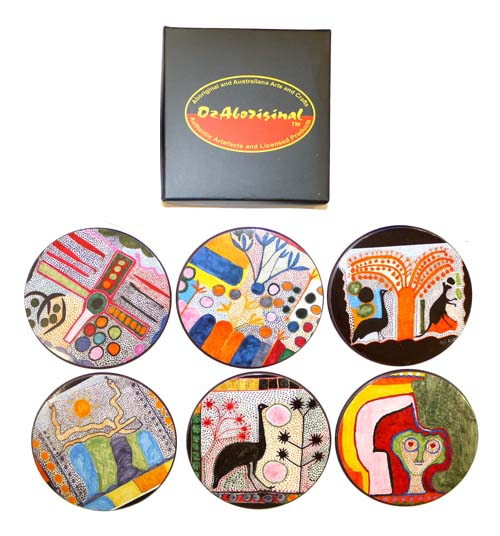 Coasters -Indigenart by Ngarra - Click Image to Close