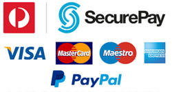 Secure Payment by Securepay & PayPal