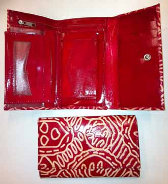 Wallet Keringke Medium Red
